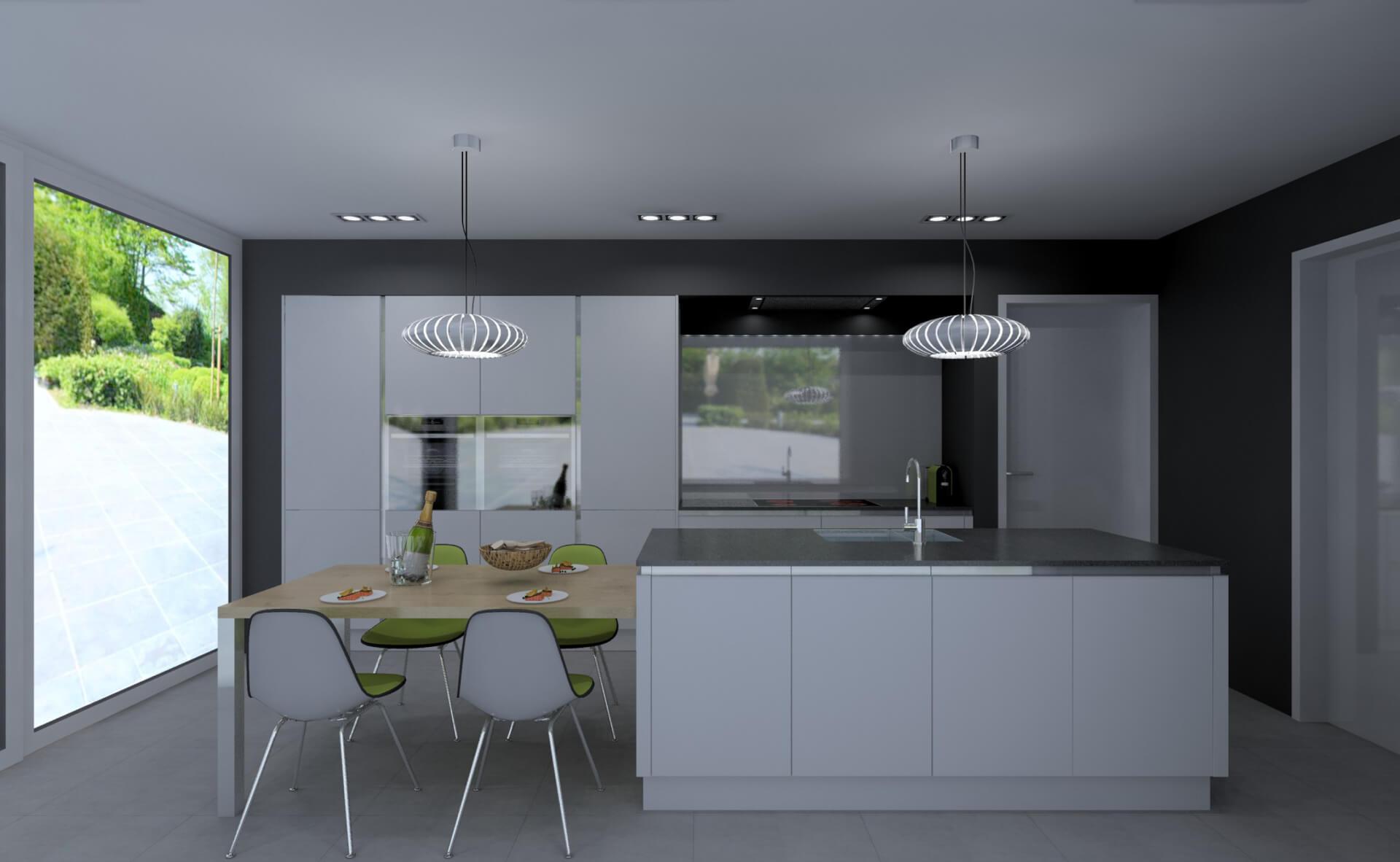 Home Center Keuken Ontwerpen : Creato keukens 3D Ontwerpen