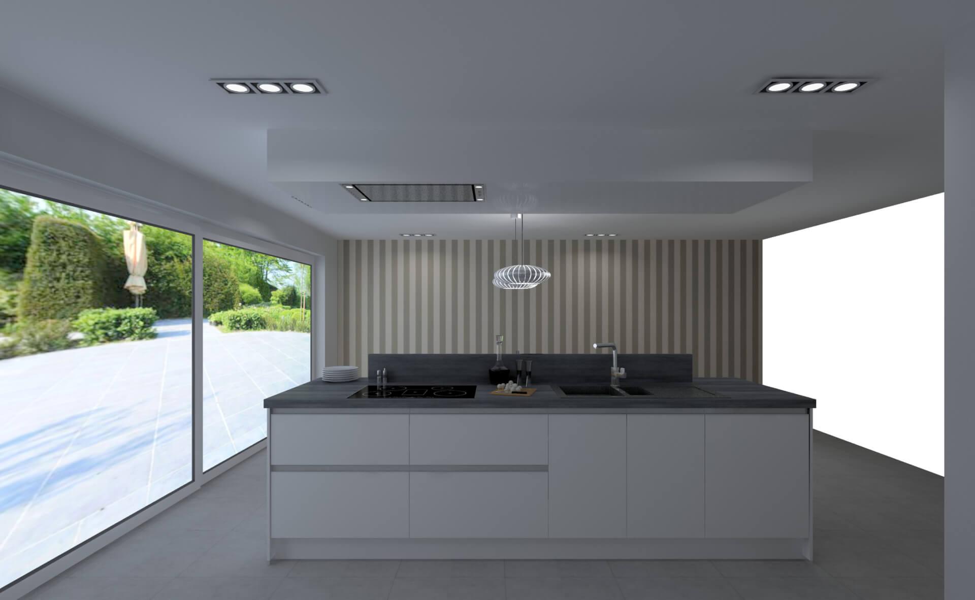 Creato keukens 3d ontwerpen for 3d ontwerp keuken