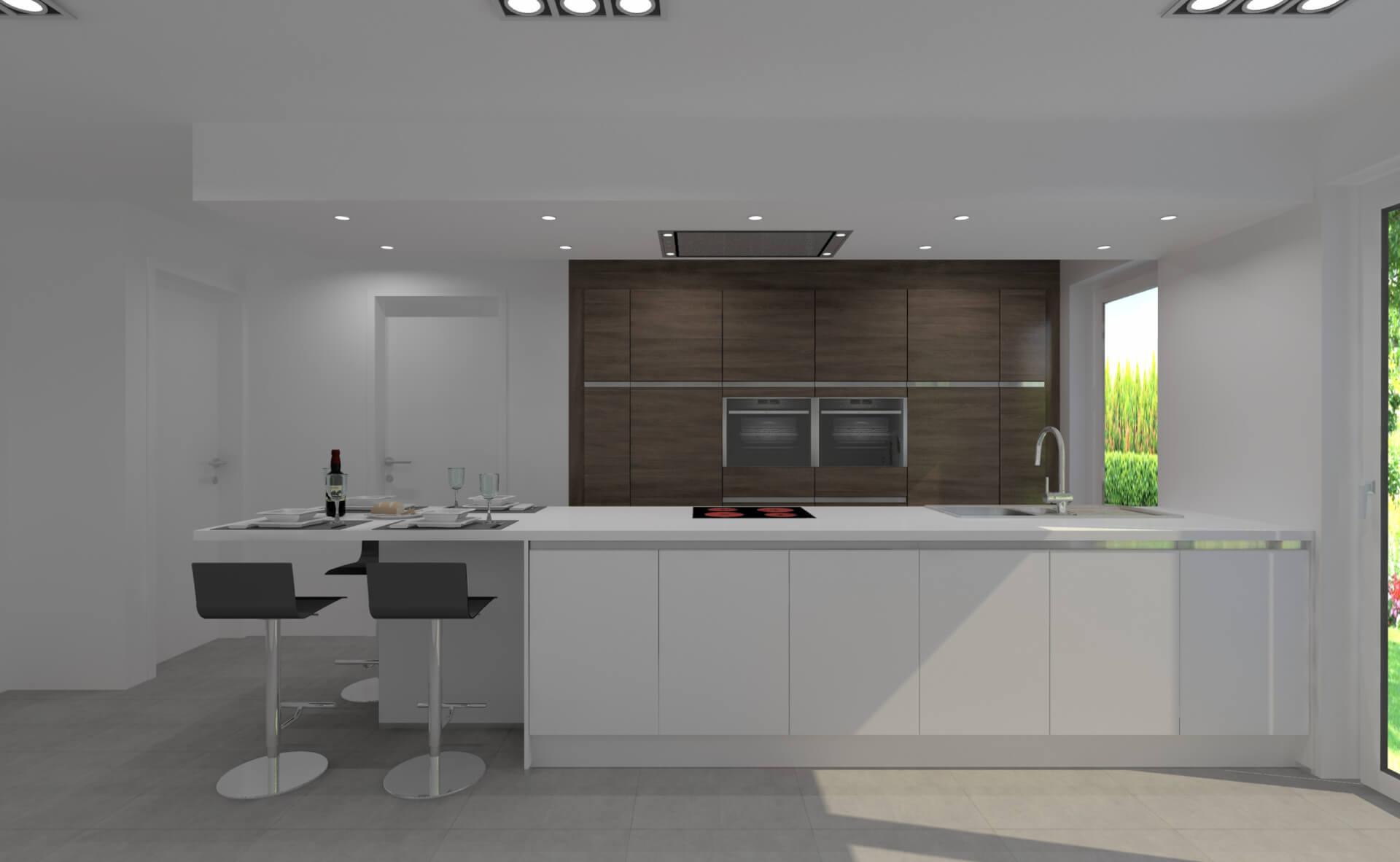 Moderne Keuken Ontwerpen : Creato keukens 3d ontwerpen